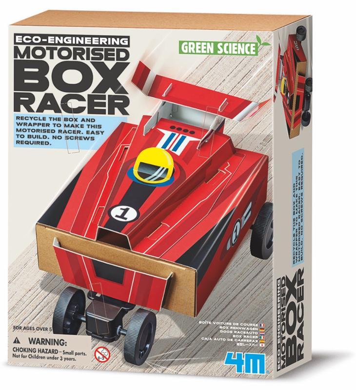 Motorised Box Car Racer