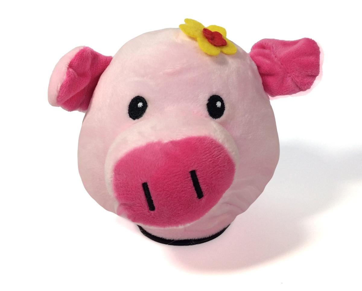 5 Inch Piggy Face Coin Bank With Light