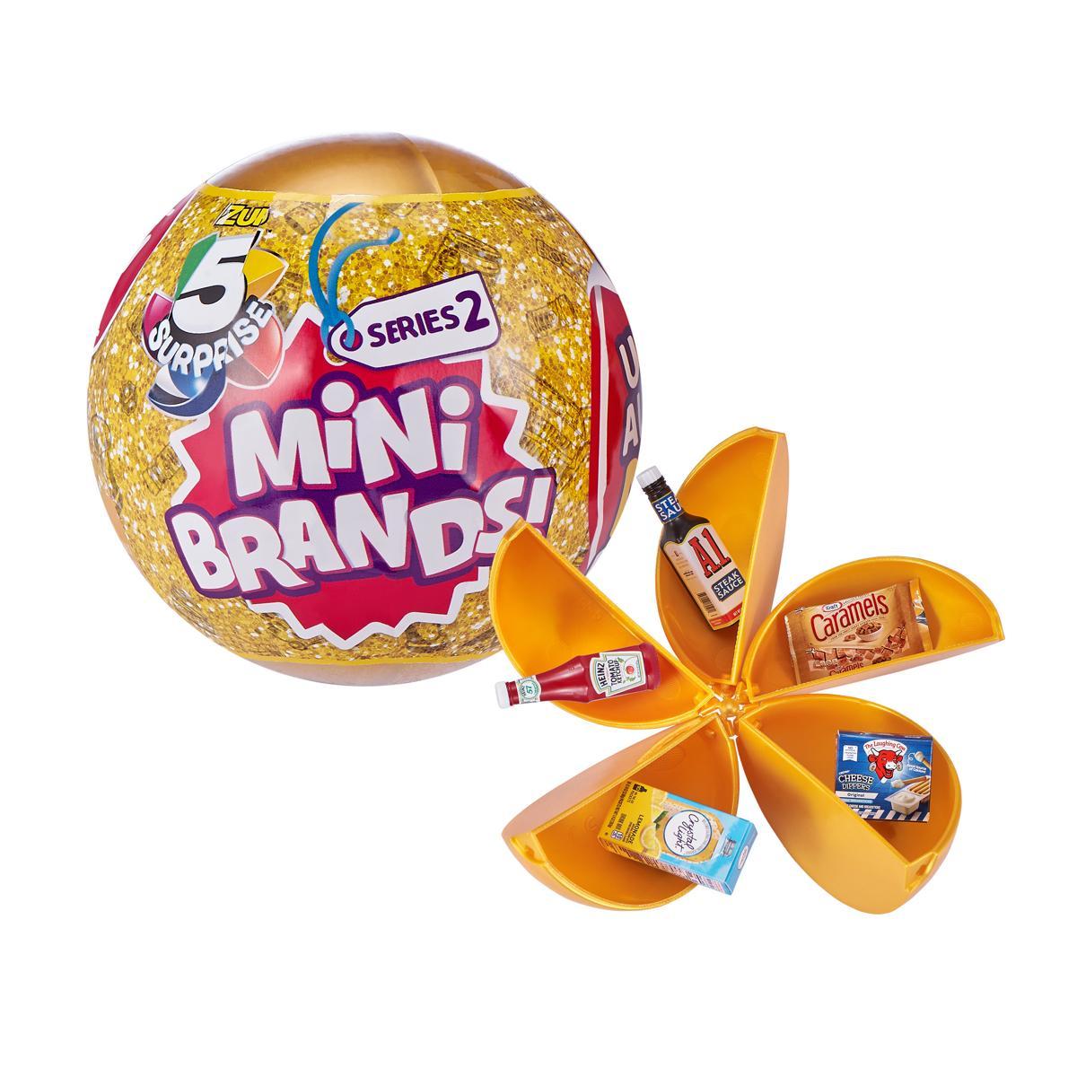 5 Surprise Mini Brands Series 2