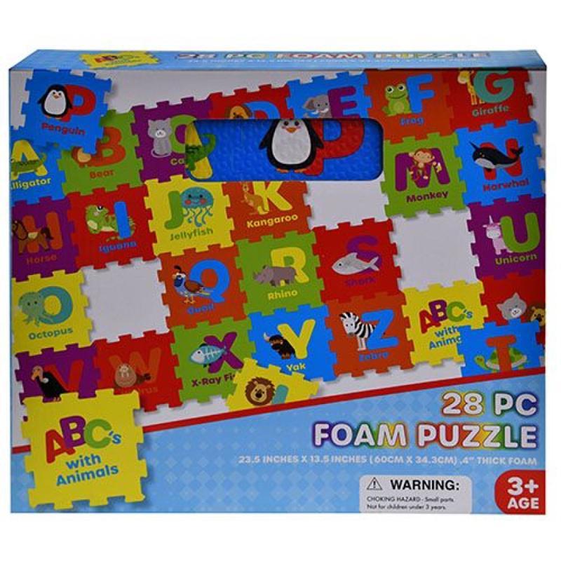 Alphabet 28 pc Foam Puzzle