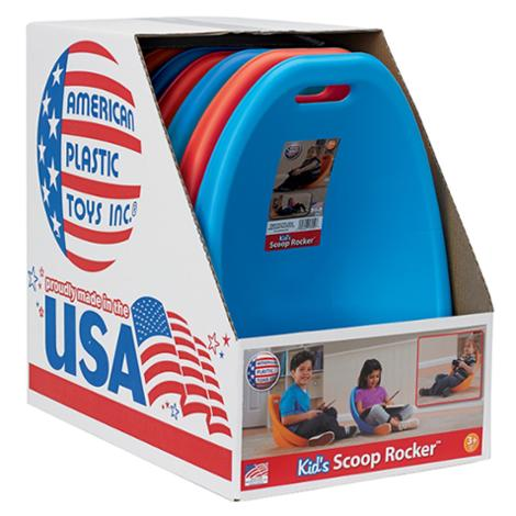 Scoop Rocker Kids Gaming Chair Red and Blue [ Set of 6 ]