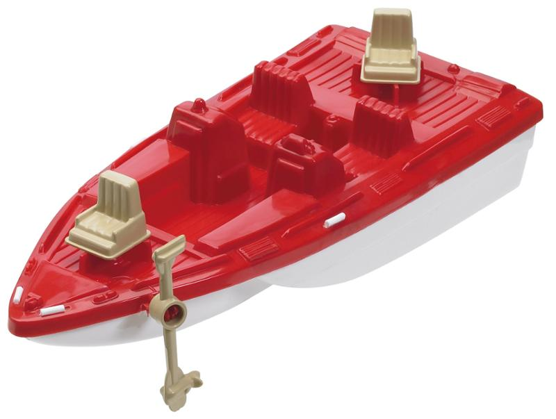 American Plastic Toys Deluxe Boat  10 Piece Set