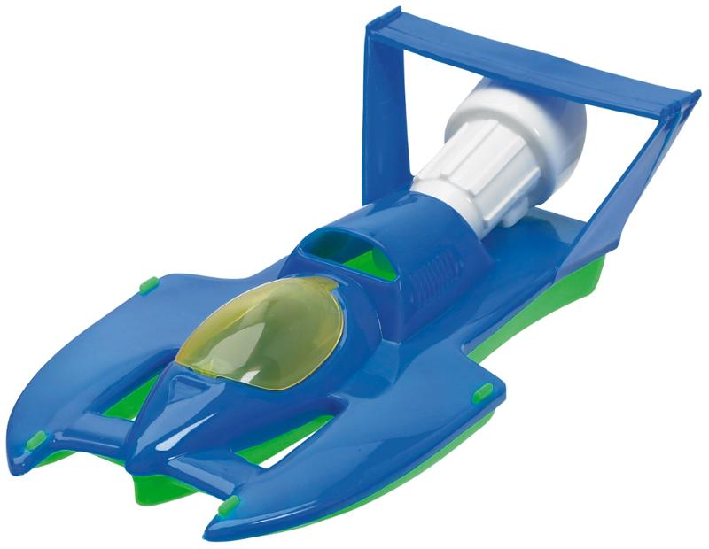 Deluxe Hydroplane with a Flip Up Canopy Speed Boat