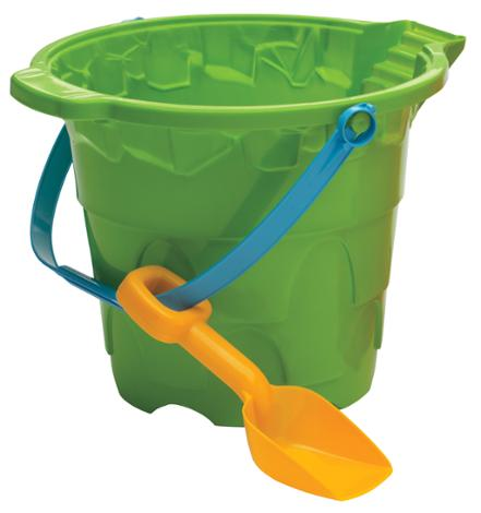 Giant Castle Pail and Shovel Set Green