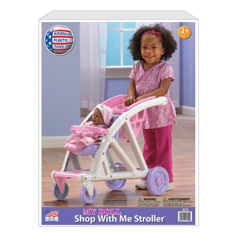My Doll Shop With Me Stroller