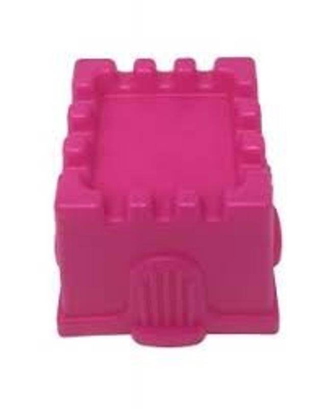 Pink Square Sand Castle Mold