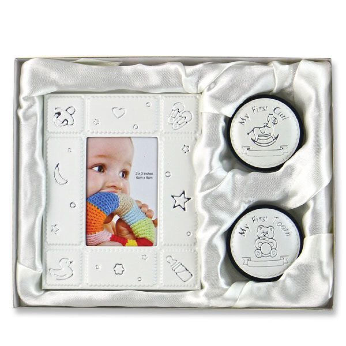 Baby First Frame Curl and Tooth Set