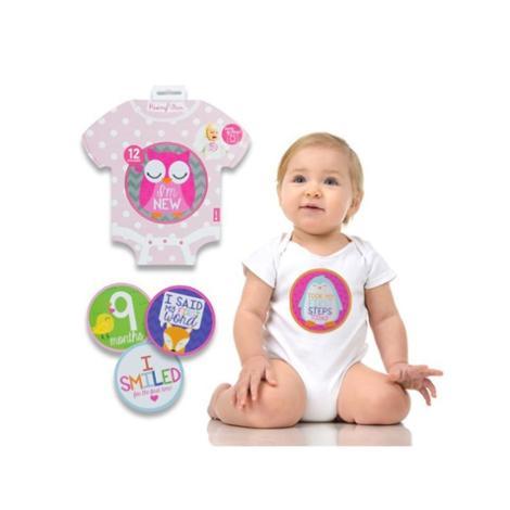 Baby Milestone Belly Stickers Animals