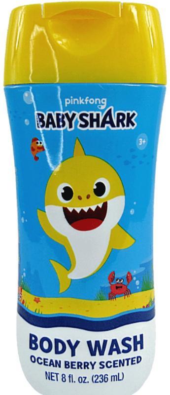Baby Shark Body Wash Ocean Berry Scented