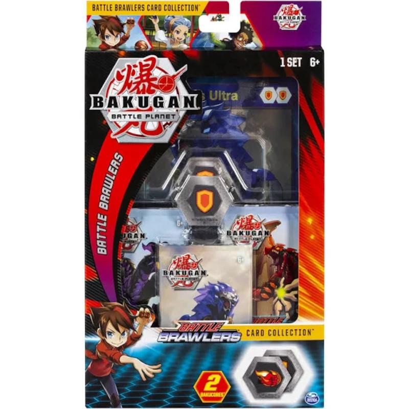 Bakugan Deluxe Battle Brawlers Card Collection with Jumbo Foil Hydorous Ultra Card