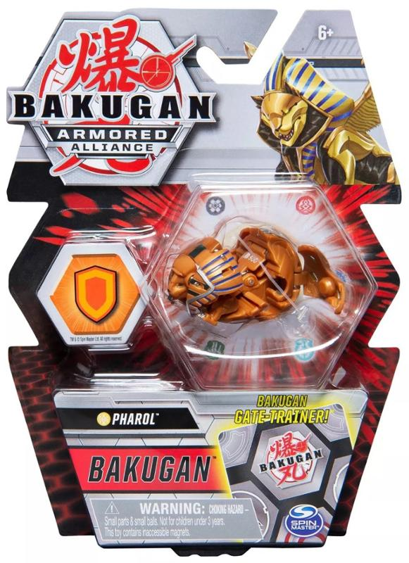 Bakugan Armored Alliance Pharol Collectible Action Figure and Trading Card