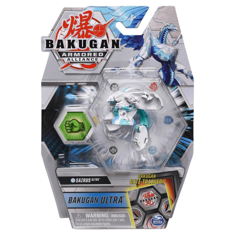 Bakugan Ultra Sairus Armored Alliance Collectible Action Figure and Trading Card