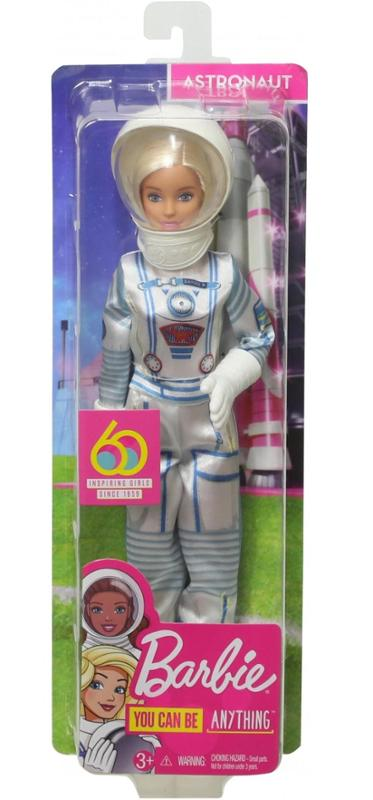 Barbie 60th Anniversary Careers Doll Astronaut with Accessories