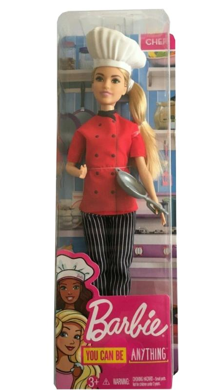 Barbie 60th Anniversary Careers Doll Pop Chef with Accessories