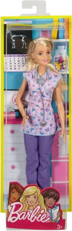 Barbie 60th Anniversary Careers Doll Nurse with Accessories