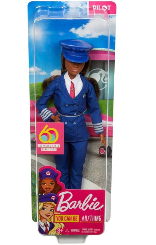 Barbie 60th Anniversary Careers Pilot with Accessories