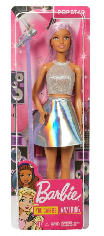 Barbie 60th Anniversary Careers Doll Pop Star with Accessories