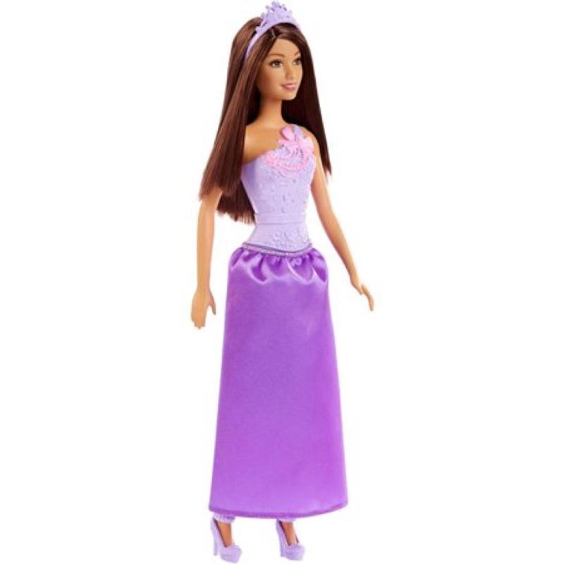 Barbie Princess Doll Dark Hair