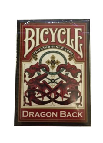 Bicycle Red/Blue Dragon Deck
