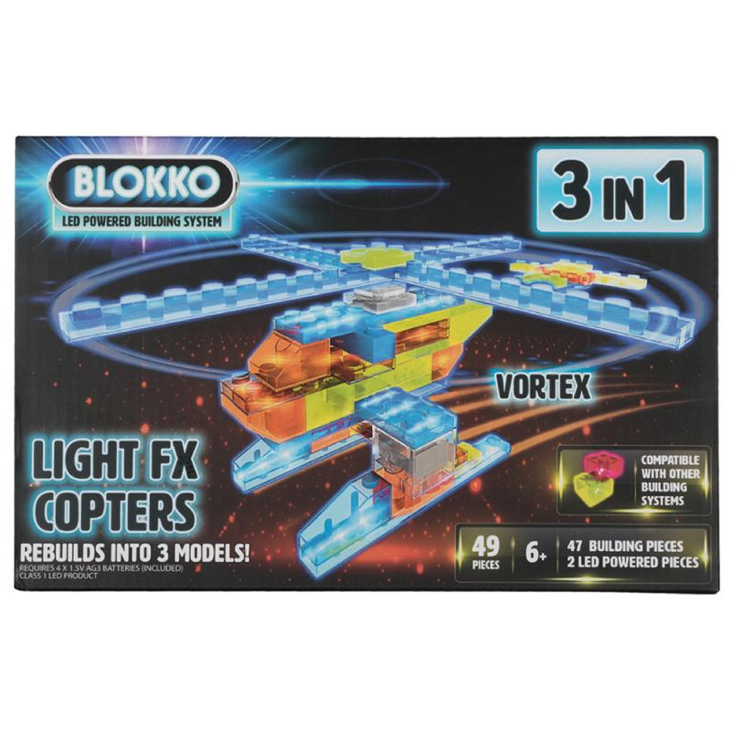 3 in 1 Light FX Copters