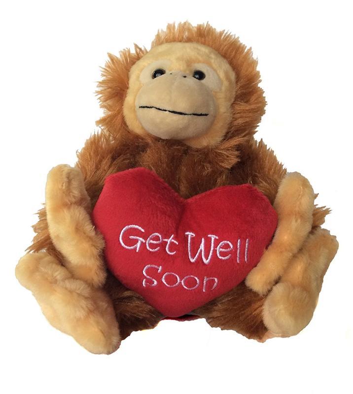 Bobo Get Well Soon Stuffed Animal