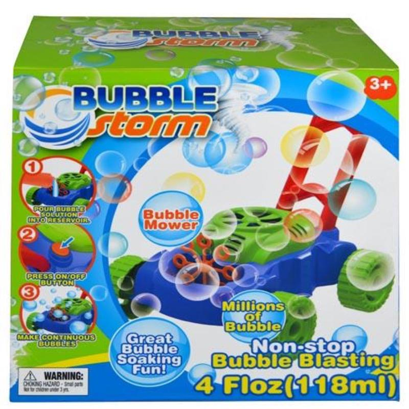 Bubble Storm Mower with 4 oz Bubble in color box
