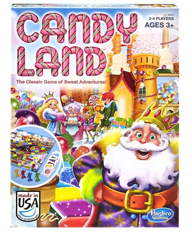 Candy Land Classic Family Board Game