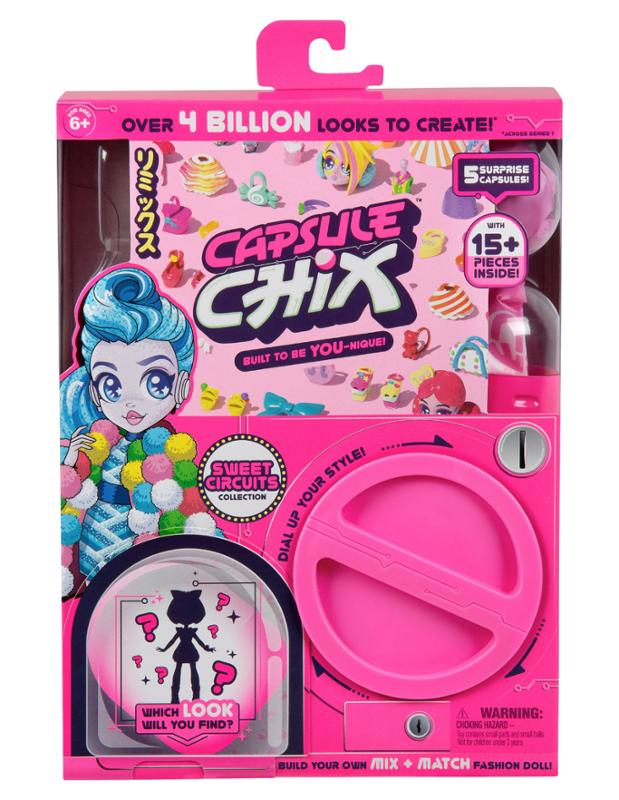 Capsule Chix Sweet Circuits Collection Doll