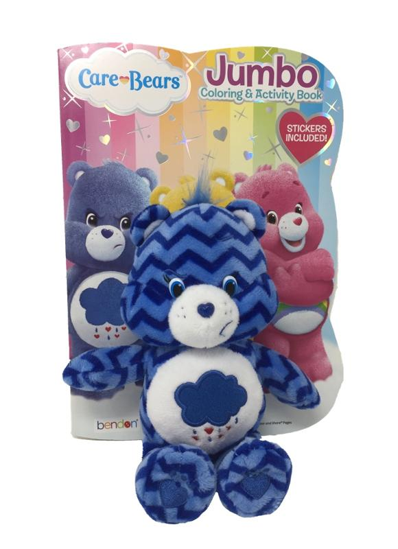 Care Bear Coloring, Activity Book and Care Bear Plush Mystery Set