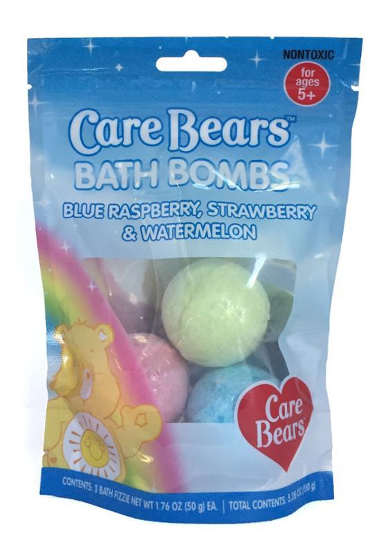 Care Bears 3 Piece Bath Bombs