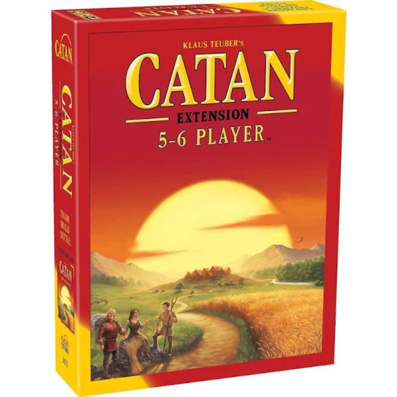 Catan- 5-6 Player Extension