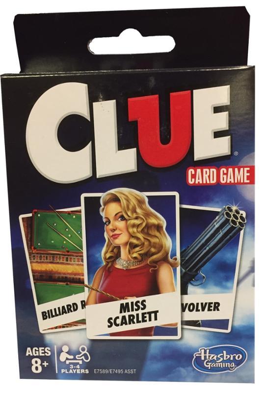 Clue Card Game