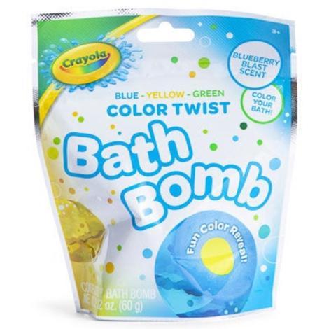 Crayola Bath Bomb Blueberry Blast Scent