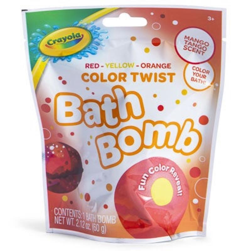 Crayola Bath Bomb Mango Tango Scent