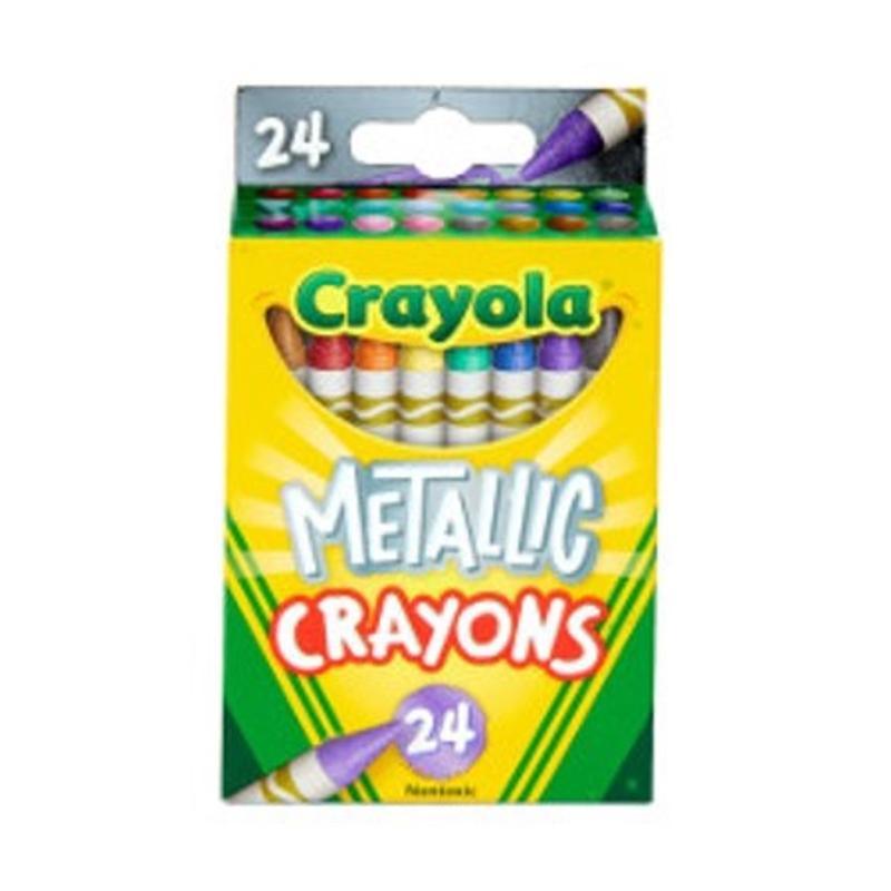 Crayola Metallic Crayons in 24 Colors