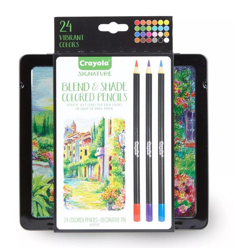 Crayola Signature Blend and Shade Colored Pencils