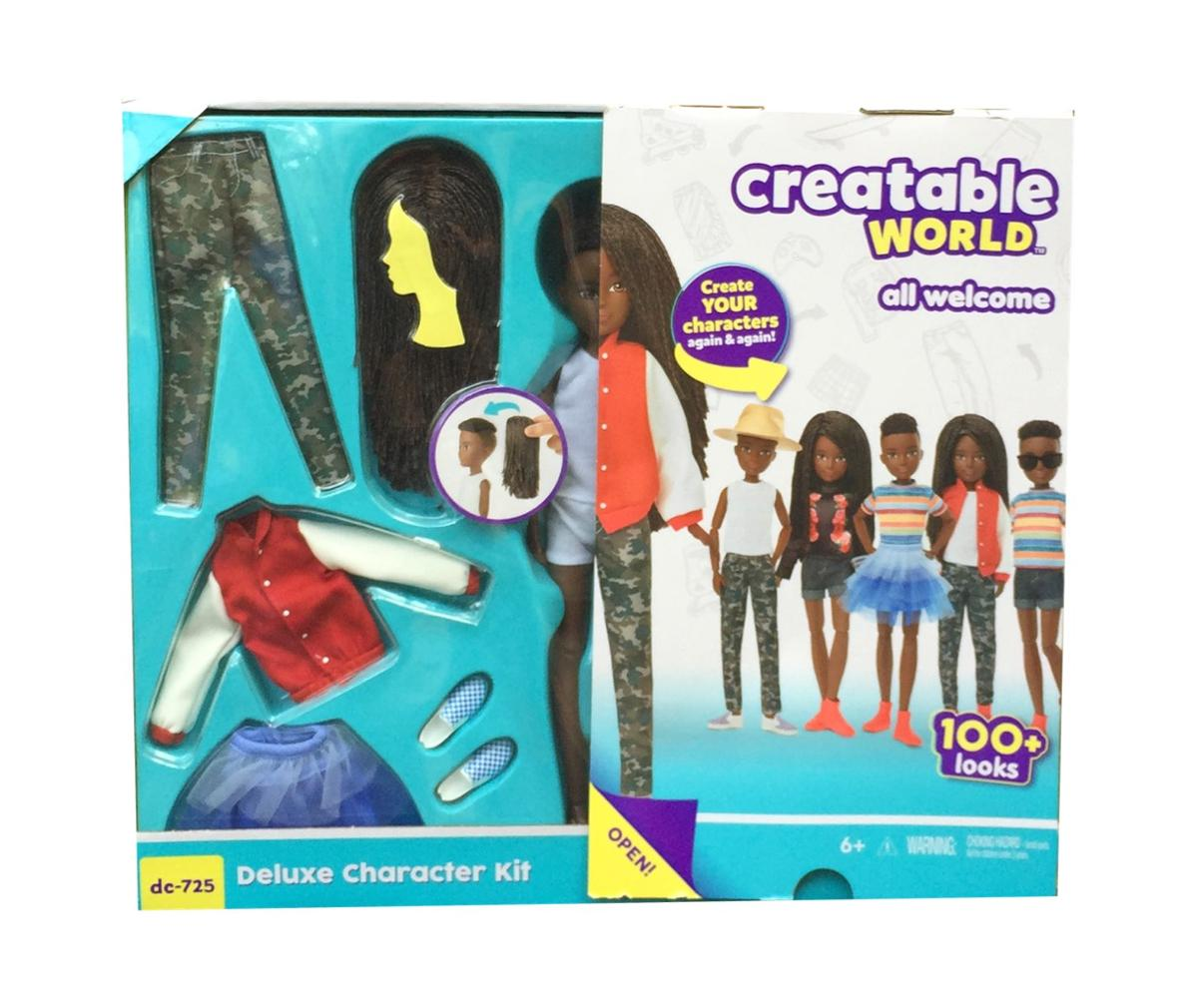 Creatable World Deluxe Character Kit DC 725