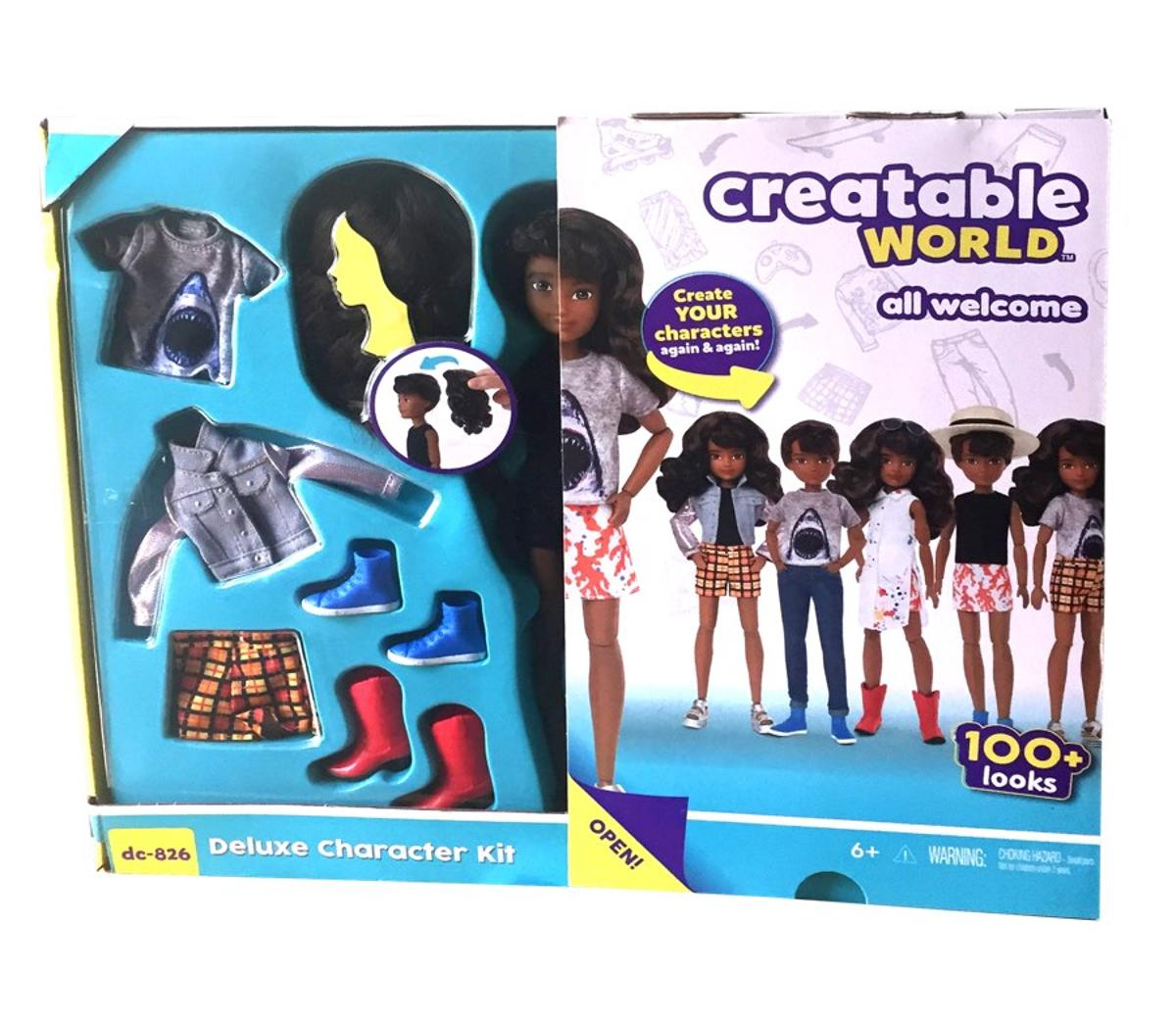 Creatable World Deluxe Character Kit DC 826