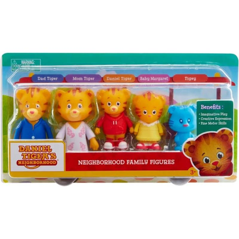 Daniel Tiger's Neighborhood Family Figure 5-Pack