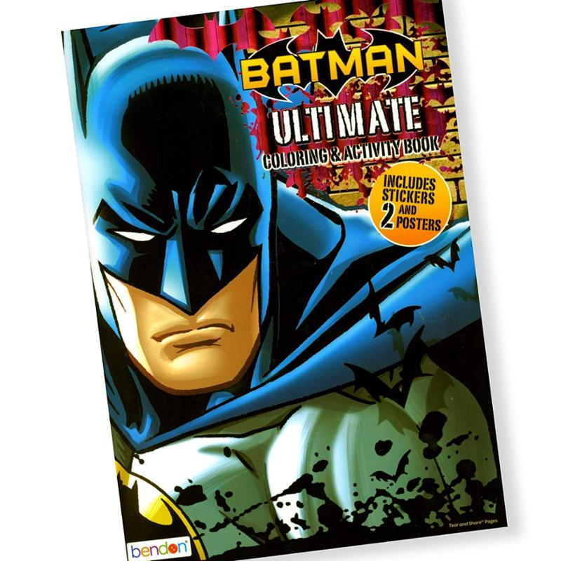 Batman Ultimate Coloring and Activity Book