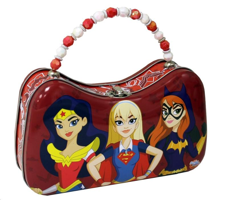 Super Hero Girls Scoop Tin Purse