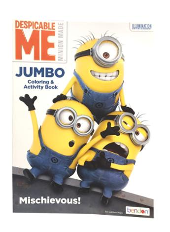 Despicable Me Jumbo Coloring and Activity Book Mischievous!