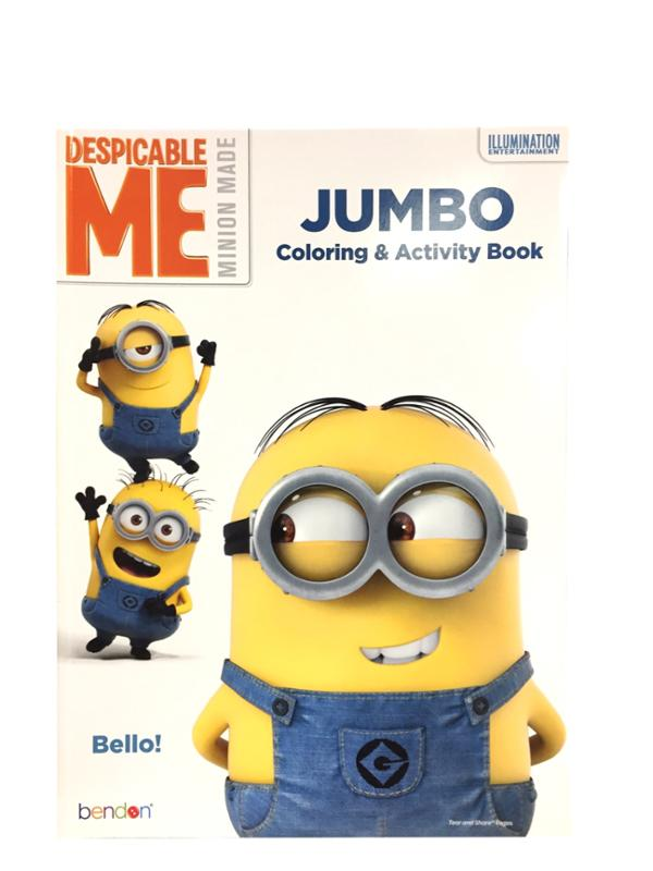 Despicable Me Jumbo Coloring and Activity Book Bello