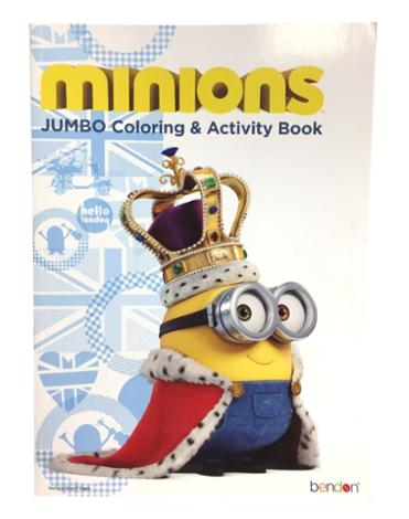 Despicable Me Jumbo Coloring and Activity Book Royal