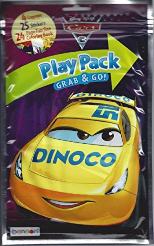 Disney Cars 3 Play Pack