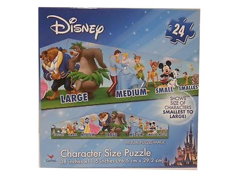 Disney Character Size 24 Piece Puzzle