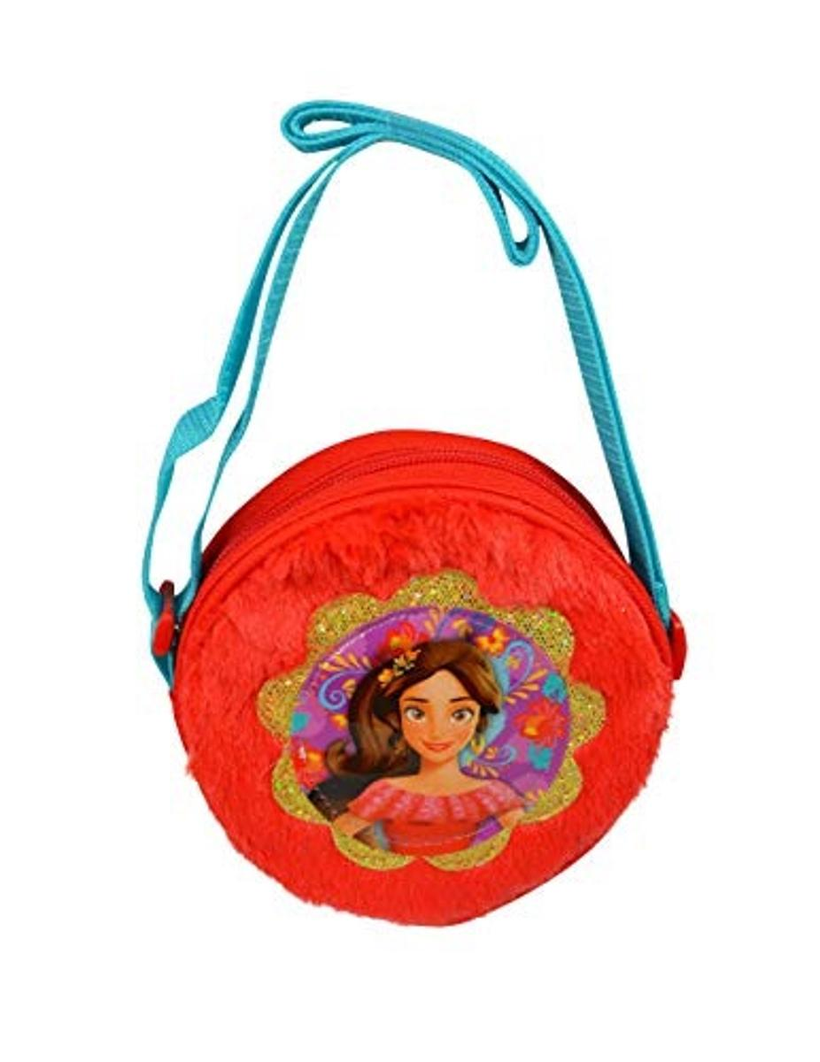 Elena Plush Round Crossbody Bag