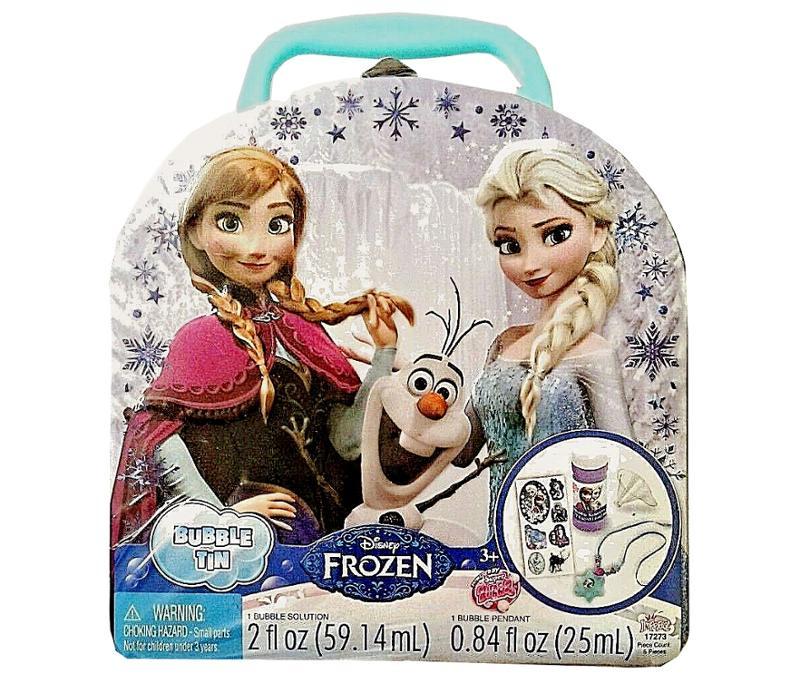 Frozen Bubble Tin 8 Pc Set