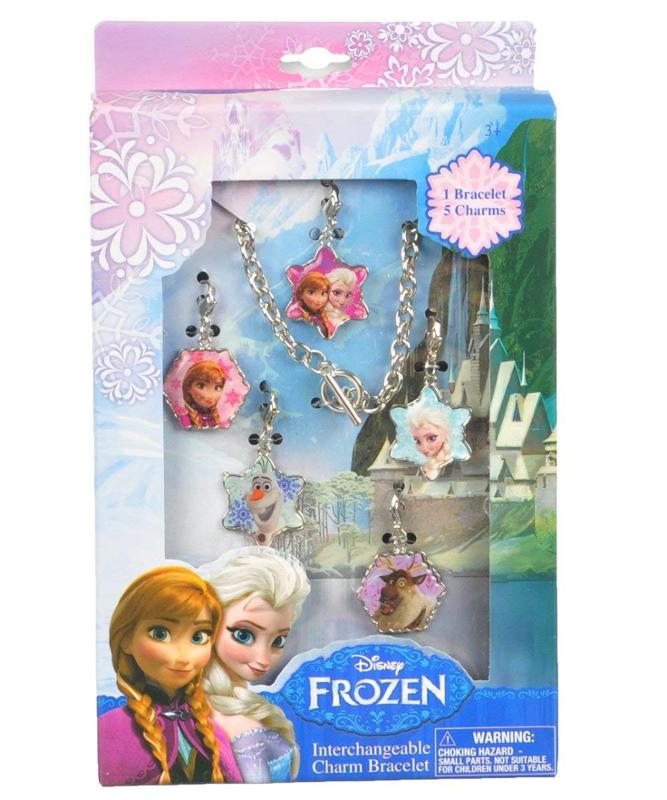 Frozen Interchangeable Charm Bracelet