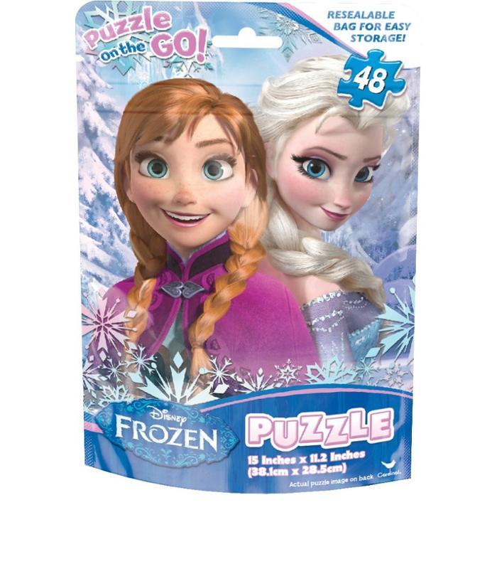 Frozen Foil Bag 48 Piece Puzzle